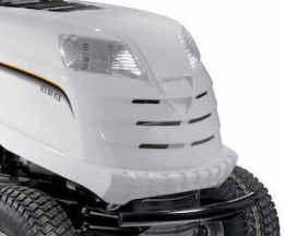 Alpina AT8102HCB lawn mower stylish front view