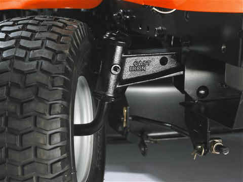 Husqvarna tc242tx front axle made from solid cast iron