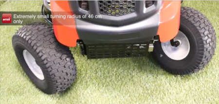 MTD Lawnking RN145 Ride on lawn mower tight turning circle