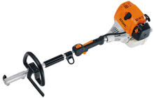 Split shaft long reach hedge trimmer and garden multi tools